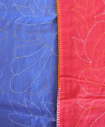 Purple Decorative Quilt