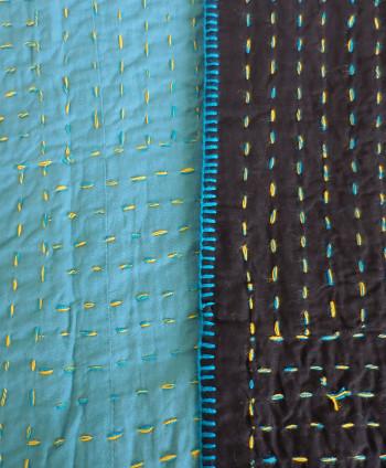Green Decorative Quilt