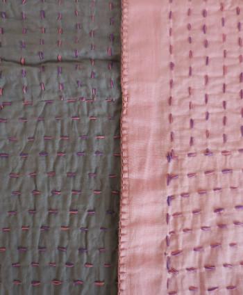 Pink Decorative Quilt