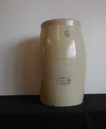 Antique Stoneware Butter Churn