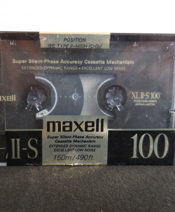 Maxell XL II-S 100 Cassettes