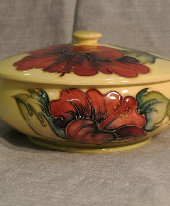 Moorcroft Covered Candy Dish