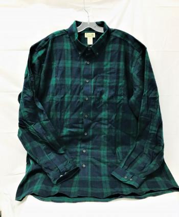 L.L. Bean plaid flannel shirt