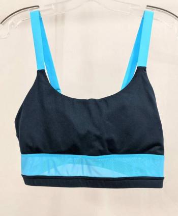 Women's Blue Swim Top
