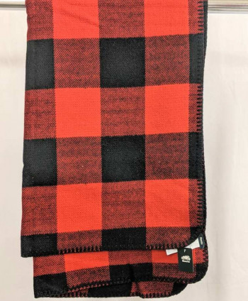 Red Plaid Roots Scarf