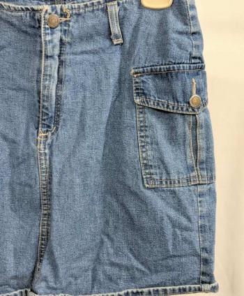 Women's Vintage Jean Skirt