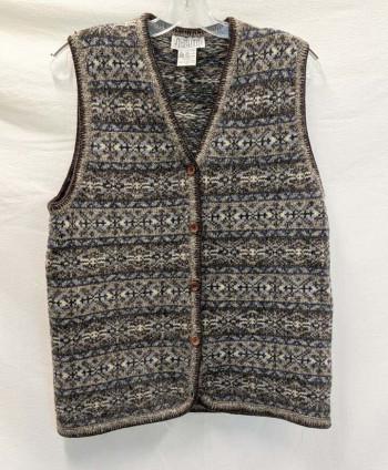 Men's Wool Sweater Vest (S)