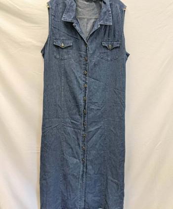 Women's Long Denim Dress (24)