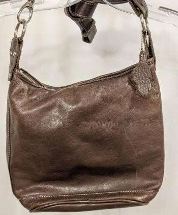 Brown Roots Purse
